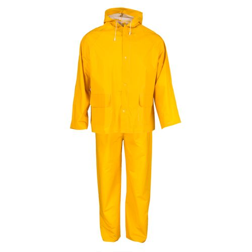 Busters regenpak PVC geel M