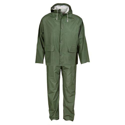 Busters regenpak PVC groen M