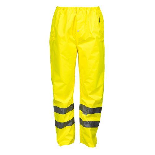Busters regenbroek Basic PVC geel L