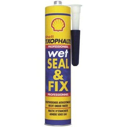 Shell afdichtmiddel Wet Seal & Fix zwart 310ml