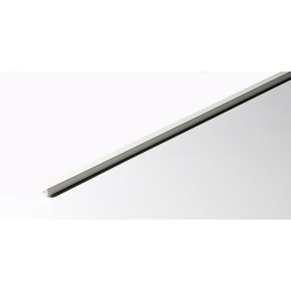 Grosfillex eindprofiel klipbaar PVC wit 260 cm
