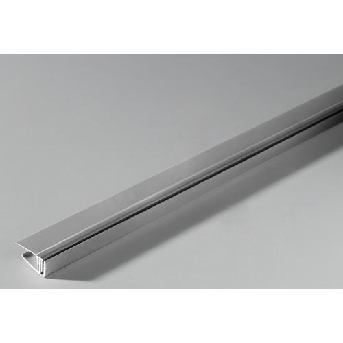 Grosfillex eindprofiel klipbaar PVC taupe 260cm
