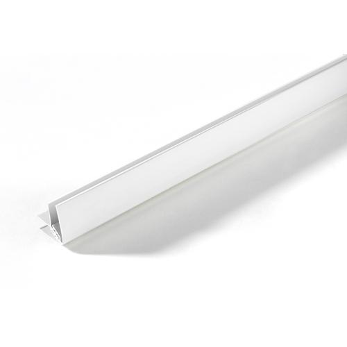 Grosfillex binnen- en buitenhoekprofiel PVC wit 260cm