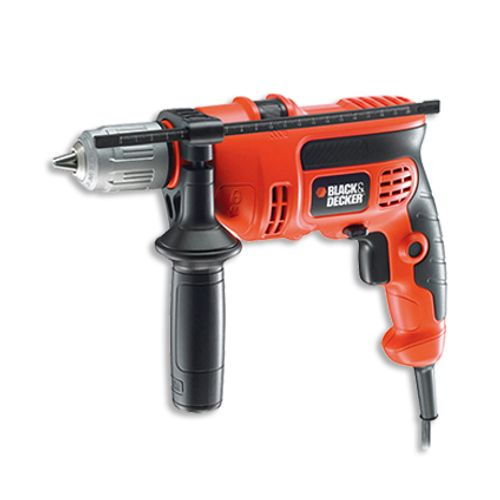 Perceuse à percussion Black + Decker 'KR654CRESK-QS' 650W