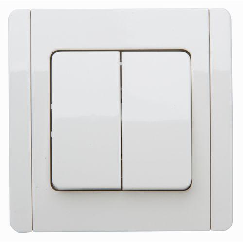 Baseline inbouw serieschakelaar wit