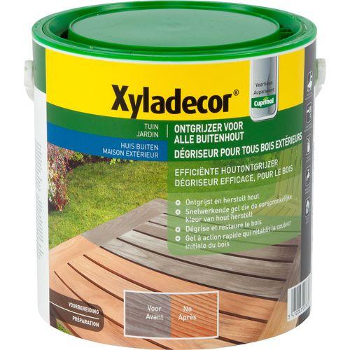 Dégriseur Xyladecor Bois extérieurs incolore 2,5L