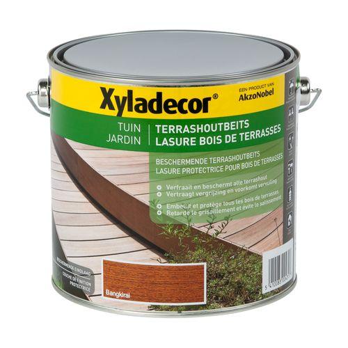Lasure Xyladecor 'Bois de terrasses' bangkirai semi-mat 2,5L