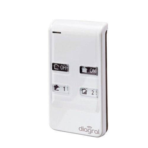 Télécommande 4 fonctions Diagral 'Diag41ack'