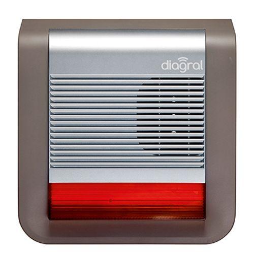 Sirène extérieure avec flash Diagral 'Diag50aax'