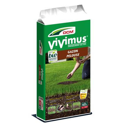 DCM organische gazon bodemverbeteraar Vivimus  40L