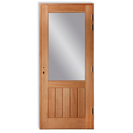 Bloc-porte extérieur JéWé verre gauche 88cm