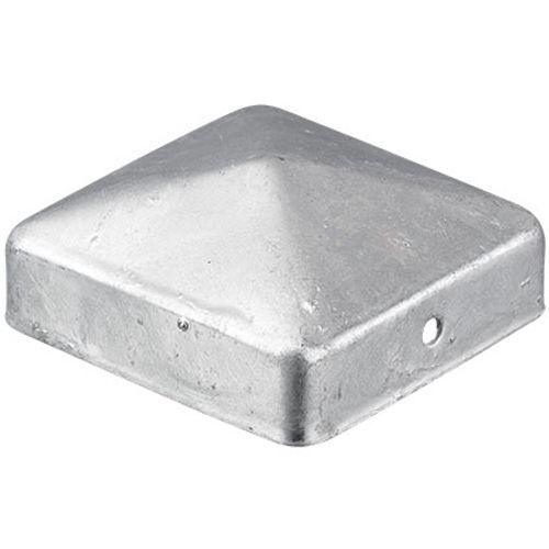 Afdekkap zilver 90x90mm
