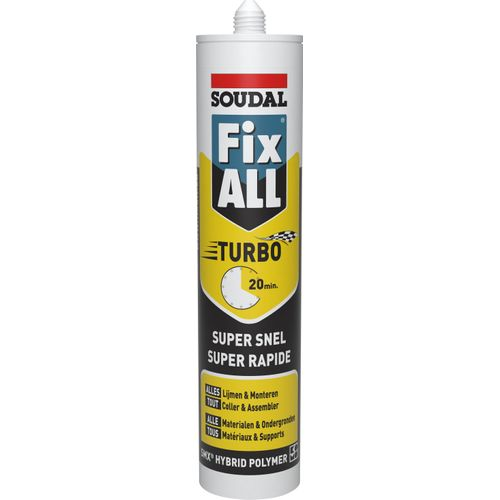Colle polymère Soudal 'Fix All Turbo' 290ml