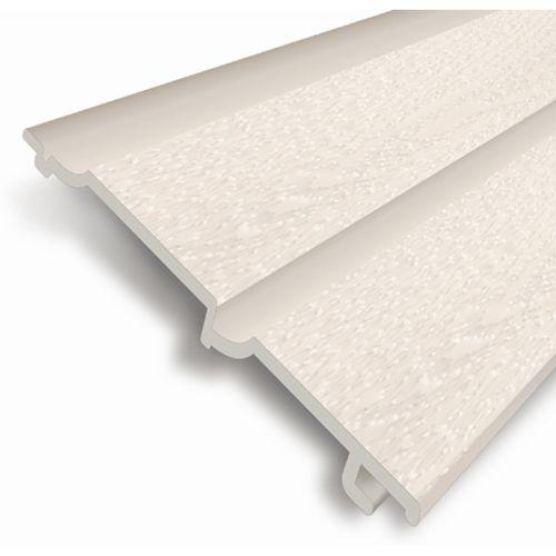 HDM gevelbekleding 'Outdoor' PVC gebroken wit 9 mm