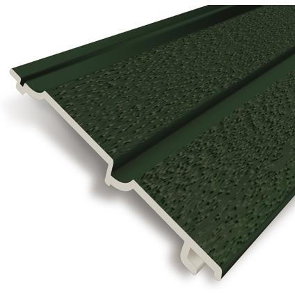 Revêtement de façade HDM 'Outdoor' PVC vert 9 mm