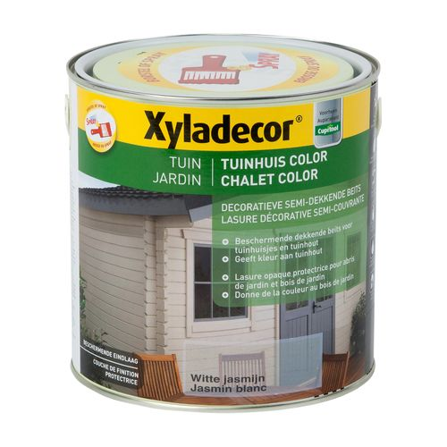 Lasure Xyladecor Chalet Color jasmin blanc mat 2,5L