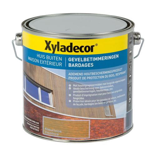 Bardages Xyladecor incolore mat 2,5L