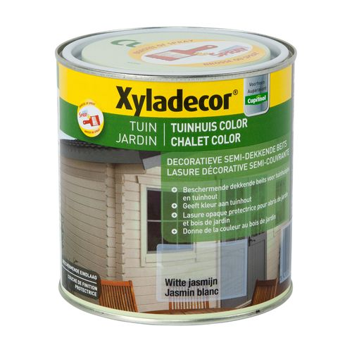 Lasure Xyladecor Chalet Color jasmin blanc mat 1L