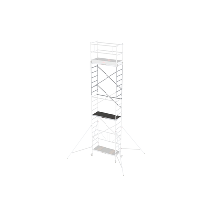 Echafaudage Altrex 'Module D' aluminium hauteur travail 7,80 m