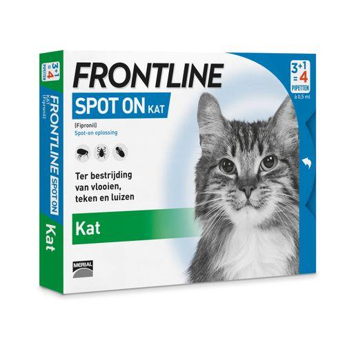 Frontline kat spot on 4 pip