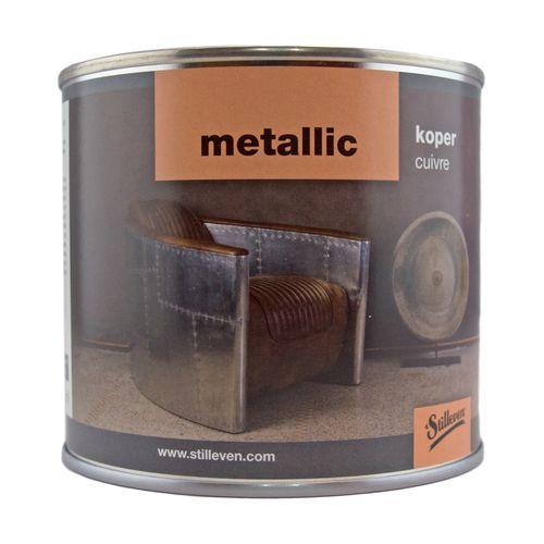 't Stilleven verf metallic koper 0,5L
