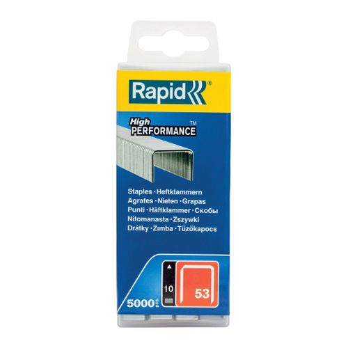 Agrafes Rapid n° 53 - 10 mm 5000 pcs