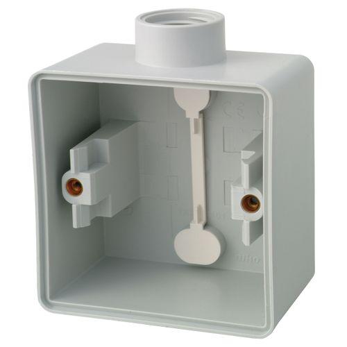 Boîtier semi-étanche pour interrupteurs 1 entrée Niko