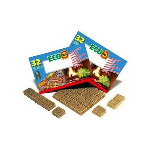 Cubes allume-feu 'Eco' Sol – 32 pcs