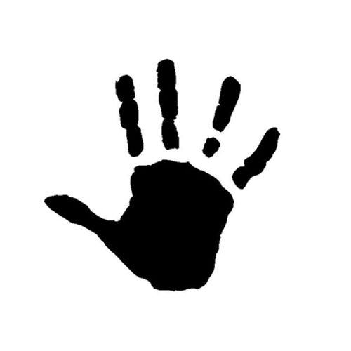 't Stilleven sjabloon hand