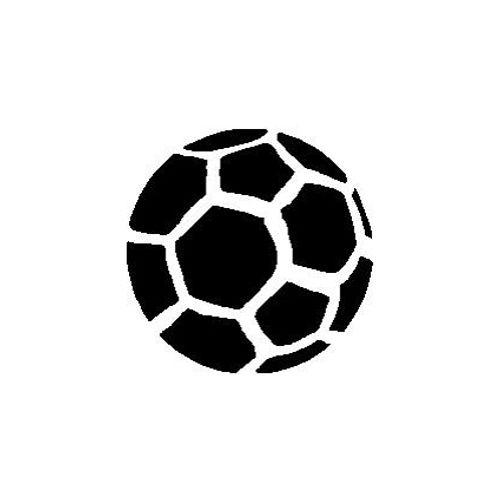 't Stilleven sjabloon voetbal