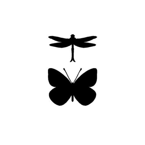 't Stilleven sjabloon insecten