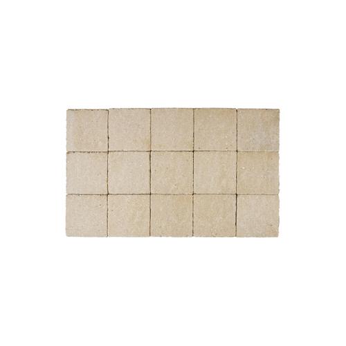 Coeck kassei dolomiet-geel in-line trommeling 15x15x6cm