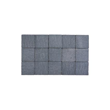 Coeck kassei arduinblauw in-line trommeling 15x15x6cm