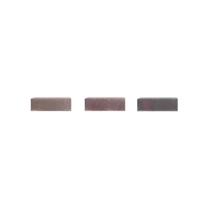 Coeck kassei herstkleurig in-line trommeling 20x20x6cm