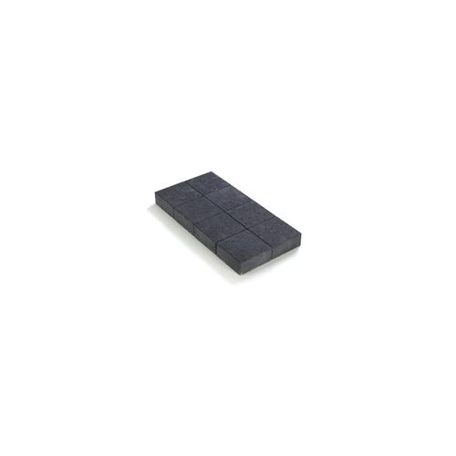 Pave non tambourine noir 20X20X6