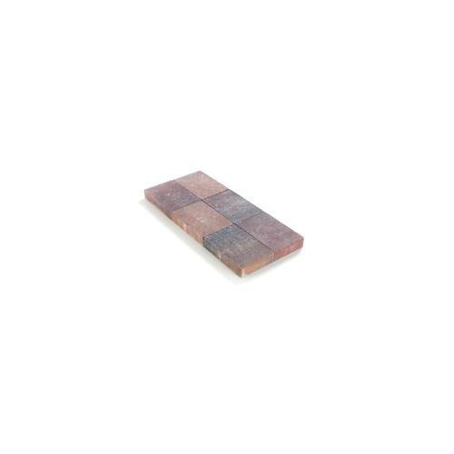 Coeck kassei herstkleurig in-line trommeling 20x30x6cm