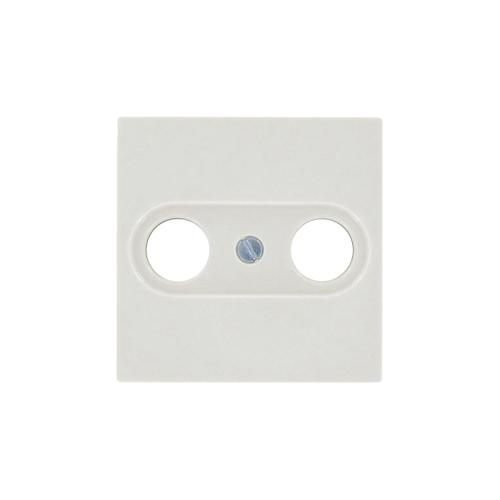 Jung afdekplaat AS500 TV/FM crème