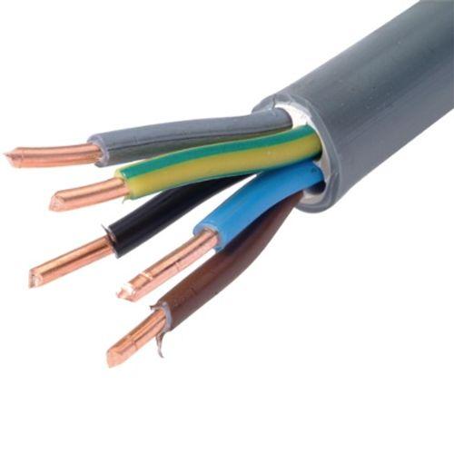 Câble électrique Sencys 'XVB-F2 5G6' gris 1 m