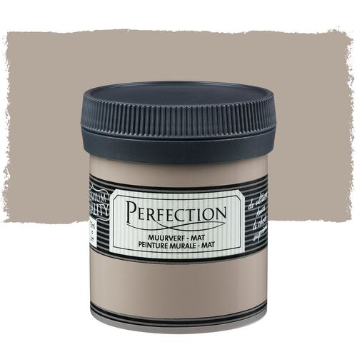 Perfection muurverf tester mat leem 75ml