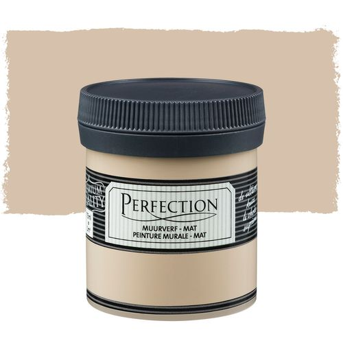 Perfection muurverf tester mat basic beige 75ml