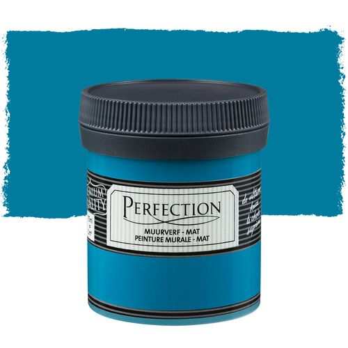 Perfection muurverf tester Ultradekkend mat petrol 75ml
