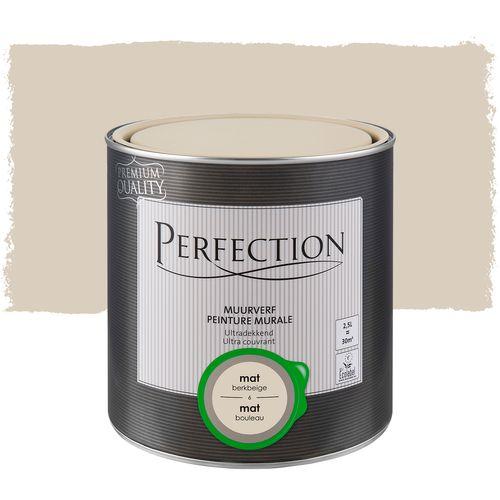 Perfection muurverf ultradekkend mat berkbeige 2,5L