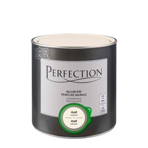 Perfection muurverf ultradekkend mat sahara 2,5L