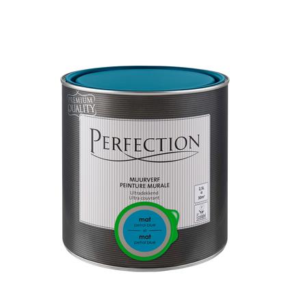 Peinture murale Perfection ultra couvrant petrol blue 2,5L