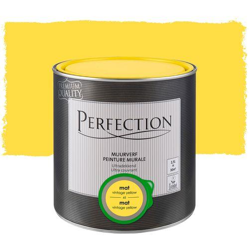Peinture murale Perfection ultra couvrant jaune vintage 2,5L