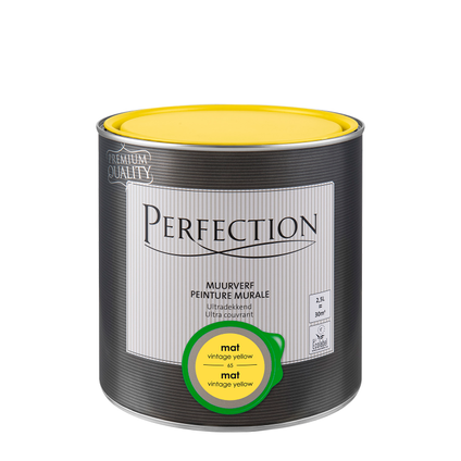 Perfection muurverf ultradekkend mat vintage yellow 2,5L