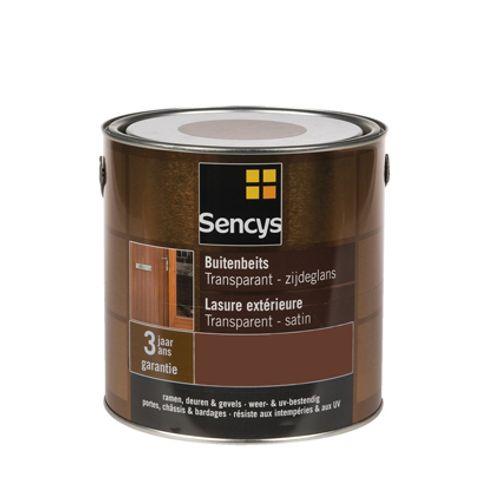 Lasure extérieure Sencys incolore satin 750ml