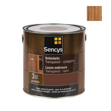 Sencys buitenbeits donker eik satijn 750ml