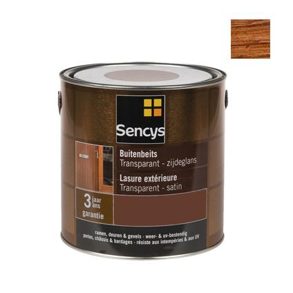 Sencys buitenbeits teak satijn 750ml