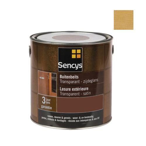 Lasure extérieure Sencys chêne clair satin 2,5L